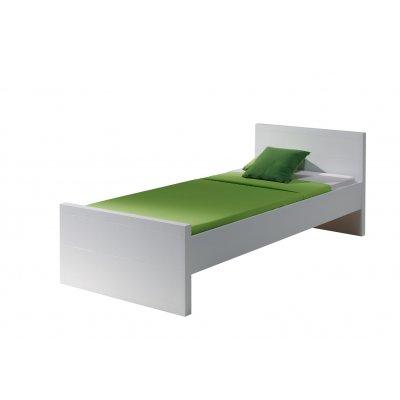 Bed wit (incl. lattenbodem) - 90x200