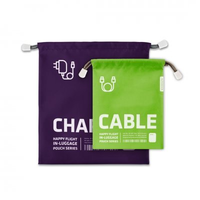 Bagagezak charger/kabelzak