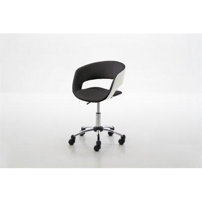 Bureaustoel zwart-wit