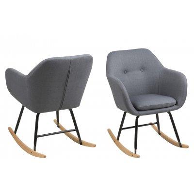 Emilia schommelstoel donkergrijs