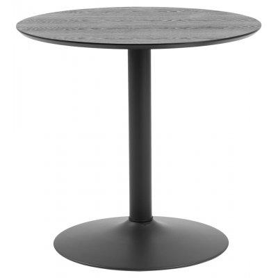 Ronde tafel zwart diam80cm