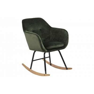 Emilia schommelstoel groen