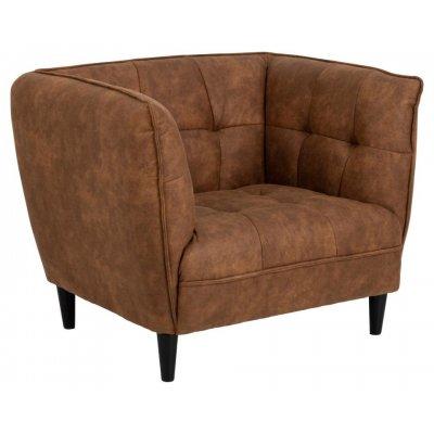Jonna fauteuil camel 89802
