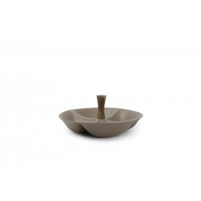 Serveerschaal 4-delig taupe