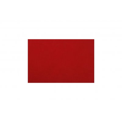 Placemat lederlook rood 30x45