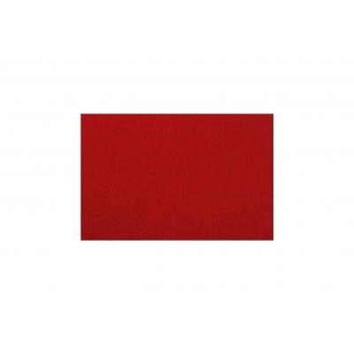 Placemat lederlook rood