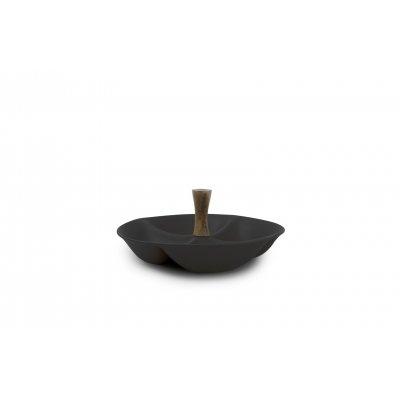 Serveerschaal 4-delig zwart