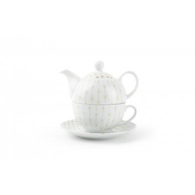 Tea for one set groen