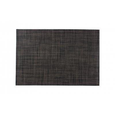 Placemat zwart/grijs 30x45