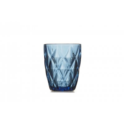 Glas blauw (set van 4)