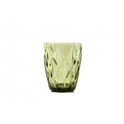 Glas groen (set van 4)