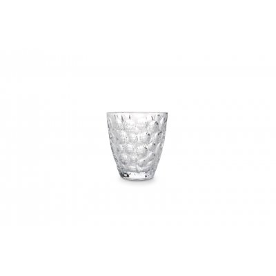 Bubble glas transparant set van 4