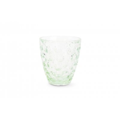 Bubble glas groen (set v 4)