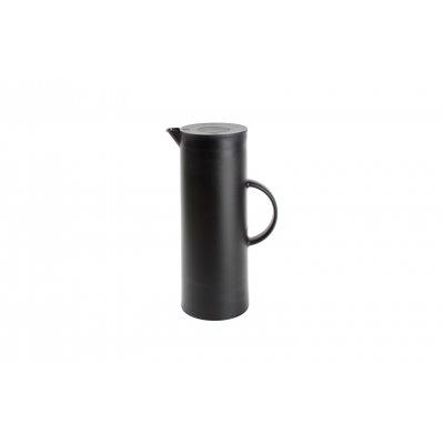 Thermos zwart 1l