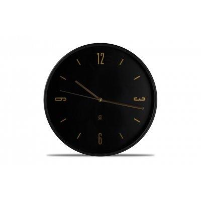 Klok zwart en goud (38cm)