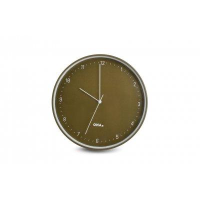Klok olijfgroen (diam 31cm)