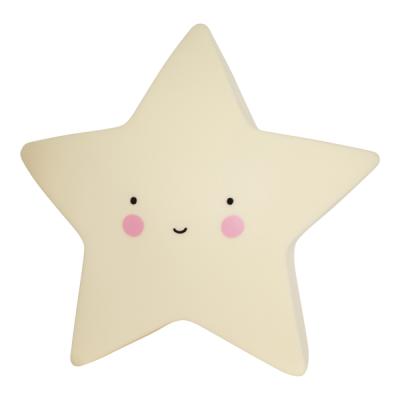Mini ster licht geel