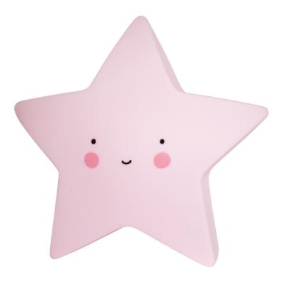 Mini ster licht roze