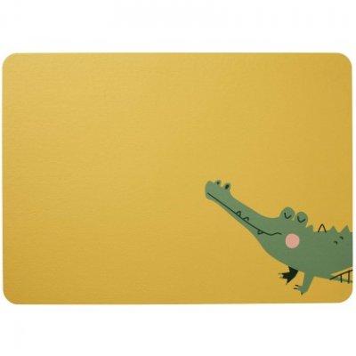 Placemat kids croco krokodil