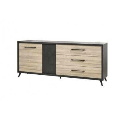 Dressoir 1deur + 3 laden