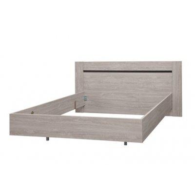 Bed houtkleur (incl. dwarslatten) - 160x200