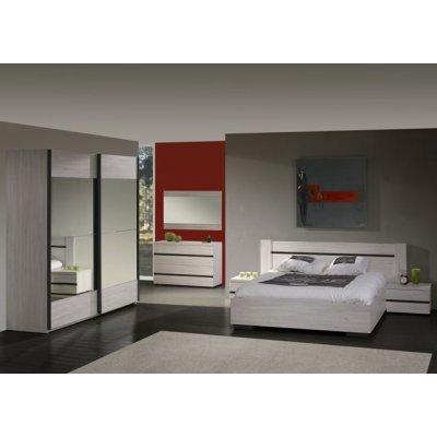 Bed 160x200 lichte houtkleur