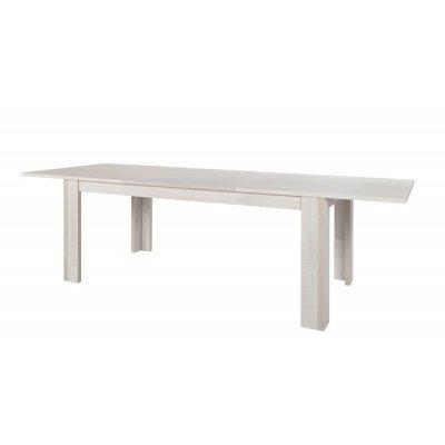 Uittrekbare tafel (van 185cm naar 265cm lang)