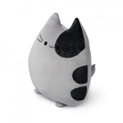 Kussen sweet kitty grijs