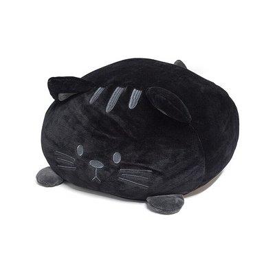 Kussen poes zwart