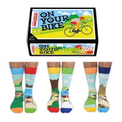 Sokken on your bike 39-46 (set van 6)