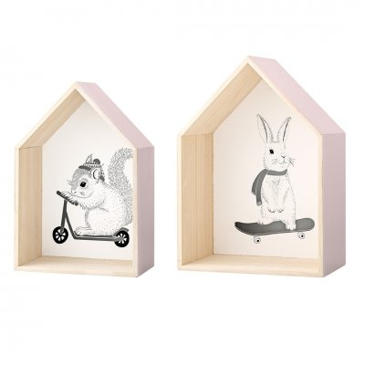 Display houses - bloomingville mini