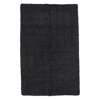Badmat zone denmark zwart (50x80)