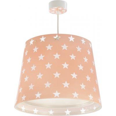 Hanglamp stars pink