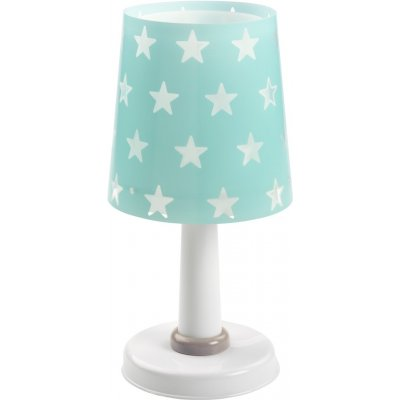 Tafellamp stars green