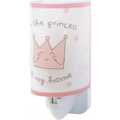 Nachtlamp prince & princess roze