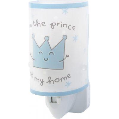 Nachtlamp prince & princess blauw