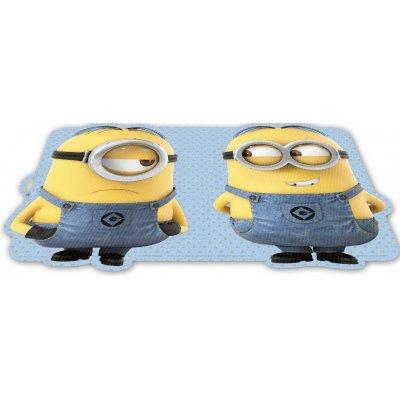 Minions placemat 3d