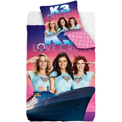 Overtrek eenpersoons k3 love cruise (140x200)