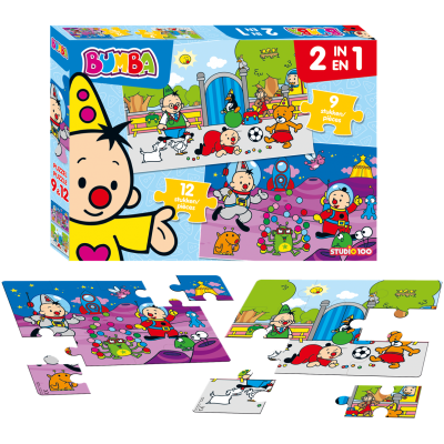 Puzzel bumba (2in1)