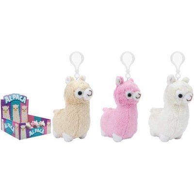 Sleutelhanger knuffel alpaca