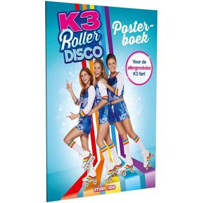 Posterboek k3 rollerdisco