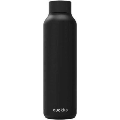 Drinkfles quokka zwart (630ml)