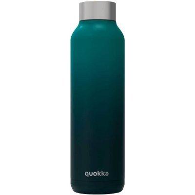 Quokka roestvrijstalen fles solid deep sea 630ml