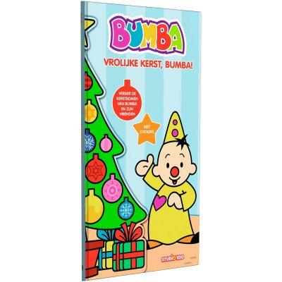 Bumba kerstboek met stickers
