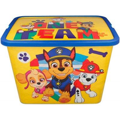 Paw patrol boy storage click box 23l