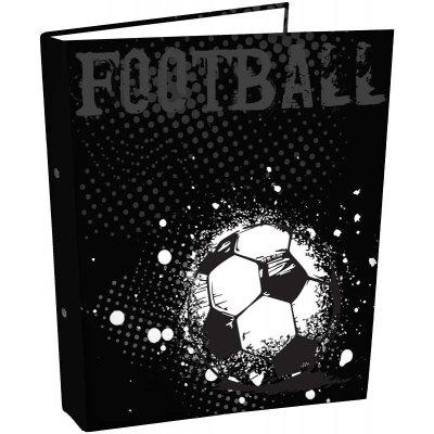 Ringmap a4 zwart/voetbal