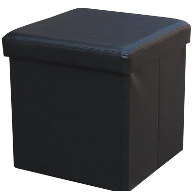 Plooibox - zwart