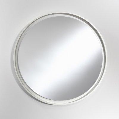 Spiegel radius l wit 78x78cm