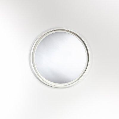 Spiegel radius s wit 40x40cm