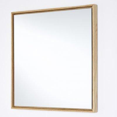 Spiegel lina eiken vierkant 40x40cm